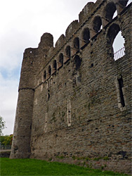South wall and turret