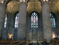 North side of the nave