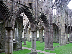 Arches of the north transept