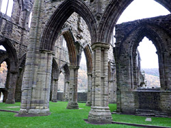 South transept arches