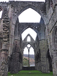 Arches above the nave