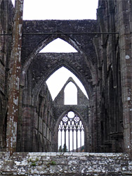 Walls of the nave