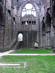 North transept and night stairs