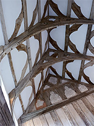 Roof of the great hall