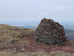 View north from the cairn