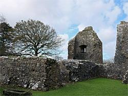 Weobley Castle, Swansea, Wales