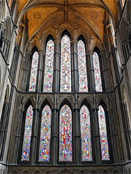 Window of the lady chapel