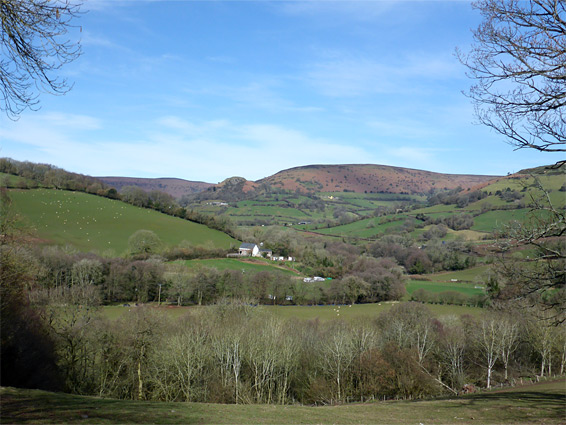 Afon Honddu valley