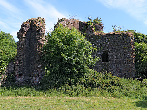 South side of the ruin