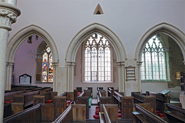 Arches, and the windows of the north aisle