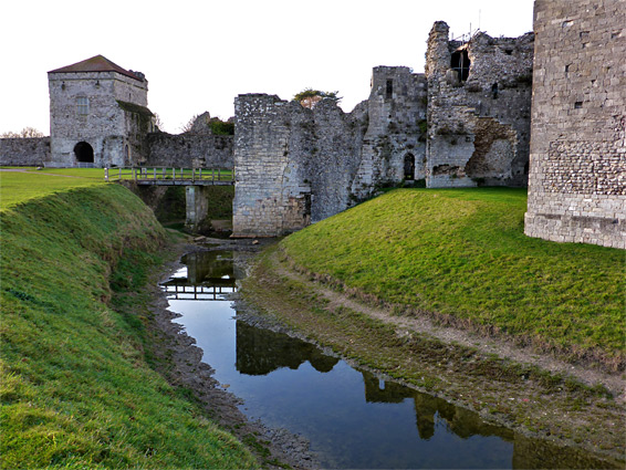 Reflections on the moat