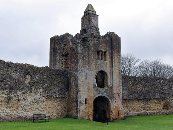 Gatehouse walls
